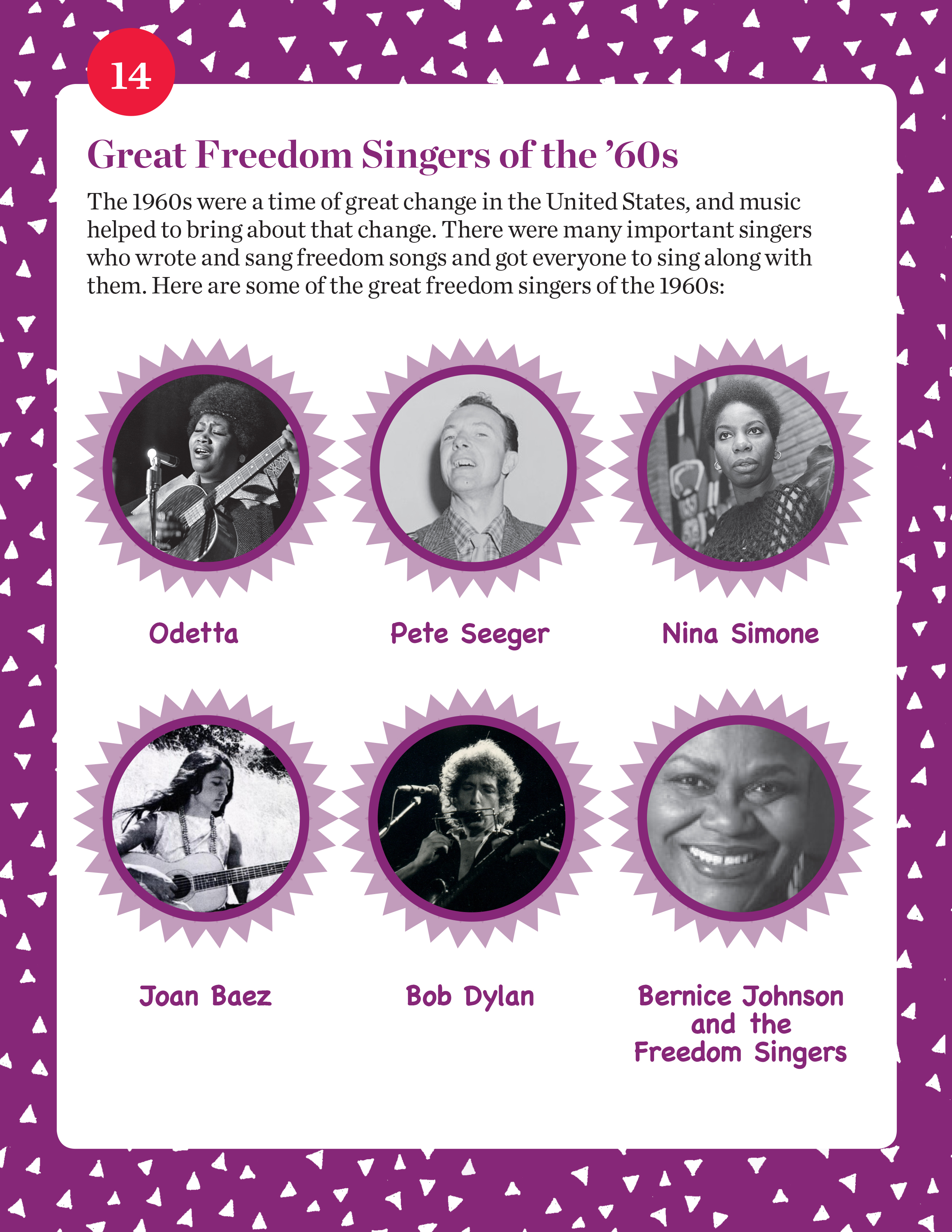 Great Freedom Singers of the '60s